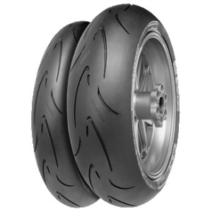 Continental 160/60 ZR17  RACE ATTACK COMP. ME  Continental 69W